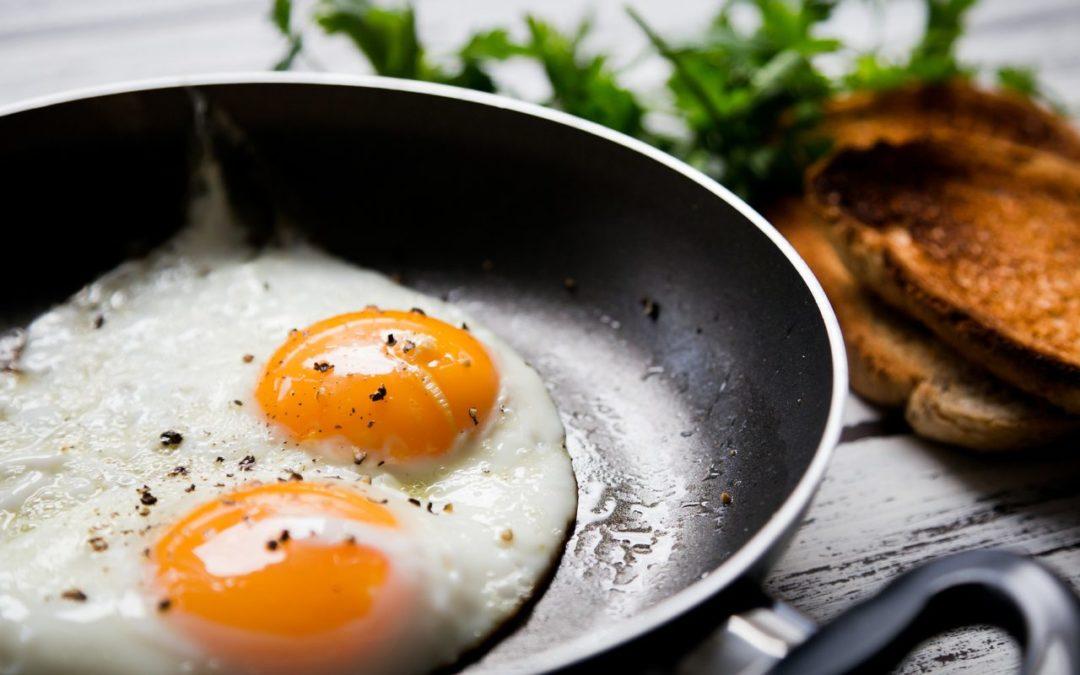 Uovo al tegamino con tartufo bianco Tesori del Matese
