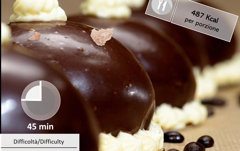 Semifreddo al cioccolato con Tartufo Bianco Tesori del Matese