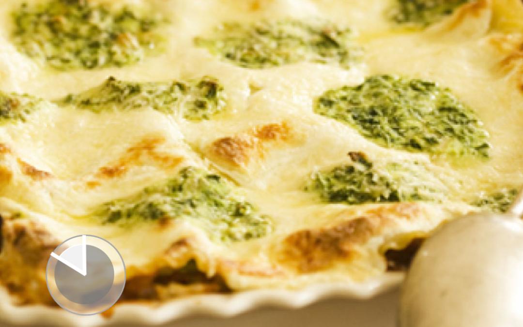 Lasagne con Crema di Carciofi al Tartufo Tesori del Matese