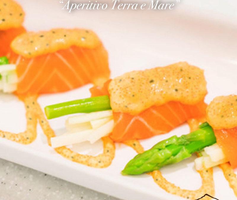 Involtini di salmone affumicato con Crema di Ceci con Tartufo